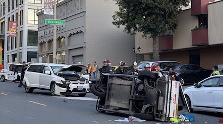 City employee injured by driver fleeing police traffic stop