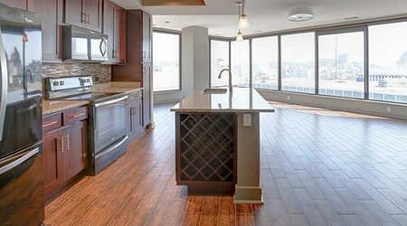 What apartments will $2,000 rent you in Central Business District, right now?