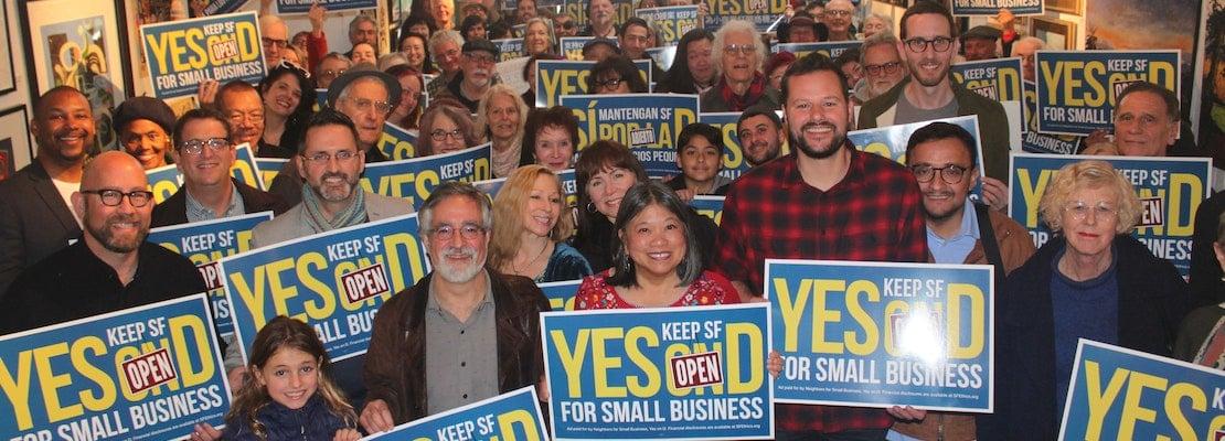 Prop. D retail vacancy tax campaign kicks off in North Beach