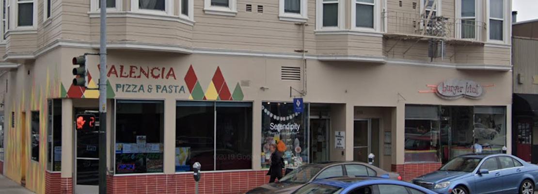 Valencia Pizza & Pasta, Burger Joint close on Valencia Street