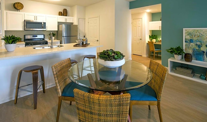 What apartments will $2,100 rent you in Mission Valley East, right now?
