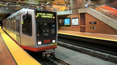 Derailed train in Castro Station causes rush hour delays
