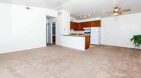 What apartments will $1,100 rent you in Northwest Fresno, this month?