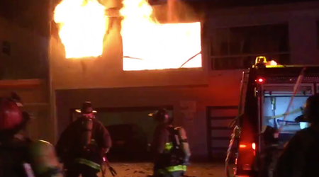Visitacion Valley house fire seriously injures 2