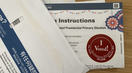 """""""I Voted"""", by mail: SF Department of Elections now includes stickers in vote-by-mail ballots"""