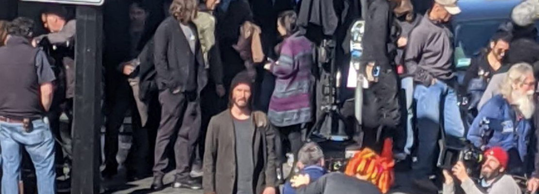 Keanu Reeves spotted filming in North Beach as 'The Matrix 4' gets underway