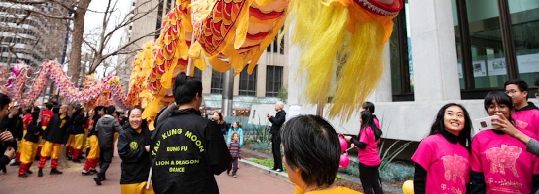Despite coronavirus fears, SF's Chinese New Year parade, community fair forge on