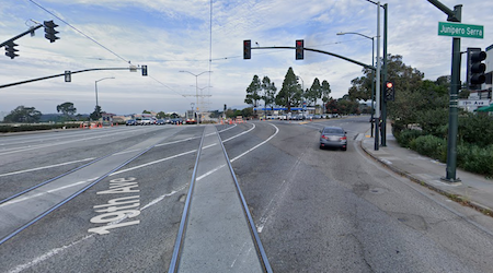 Pedestrian in critical condition after collision at busy Merced Heights intersection