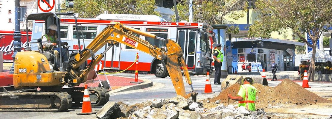 Castro Streetscape Project Will Miss Deadline