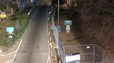 "Widening, rebuilding work shuts down ""Hairball"" bike path until May"