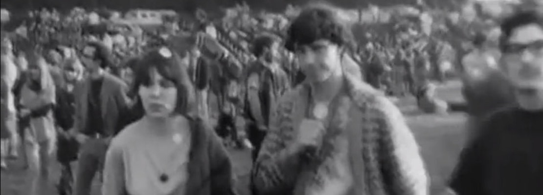 Rare Footage Of 1967's Human Be-In Festival In Golden Gate Park