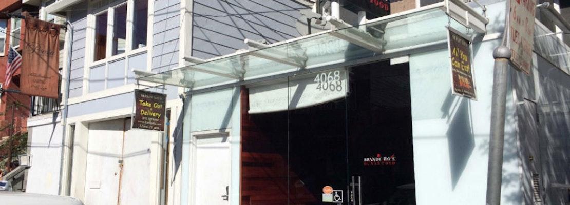 Brandy Ho's Castro Location Shuttering Today