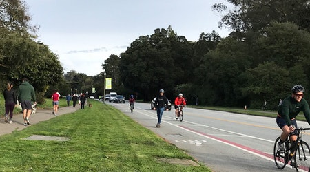 Advocates call for making Golden Gate Park's JFK Drive car-free during shelter-in-place