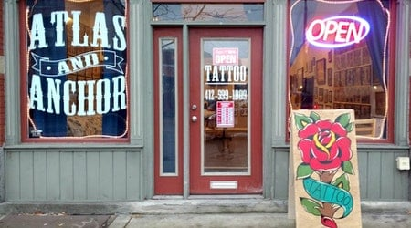 New tattoo studio Atlas and Anchor now open in South Side Flats