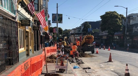 Upper Haight surface reconstruction continues during shelter-in-place order