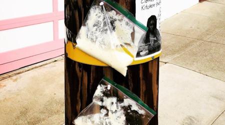 Amid home baking craze, San Franciscans get creative to swap sourdough starter at a safe distance
