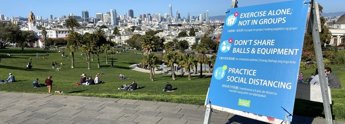San Franciscans crowd streets and parks during shelter-in-place — here's how to stay safe