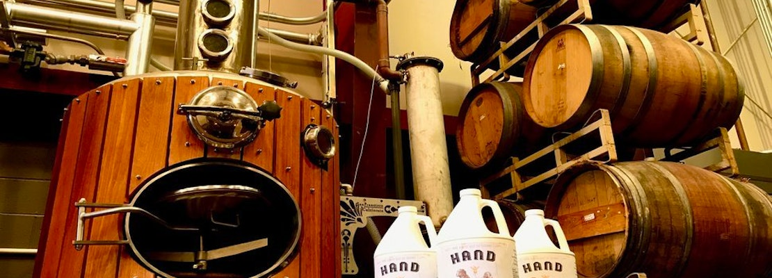 As sales of spirits run dry, Bayview distilleries brew up batches of hand sanitizer