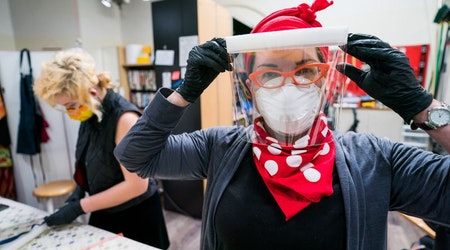 Inside Bay Area makers' rush to solve the PPE shortage