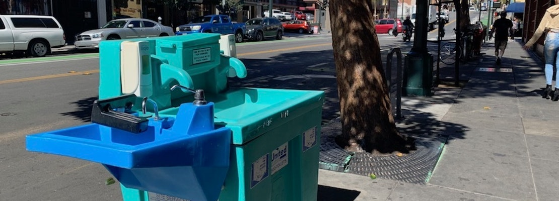 City expands public toilets and hand washing stations as stop-gap in COVID-19 pandemic