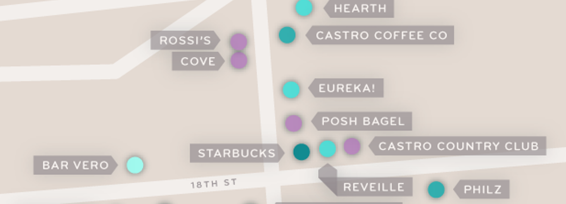 Mapping The Castro's Coffee Cluster