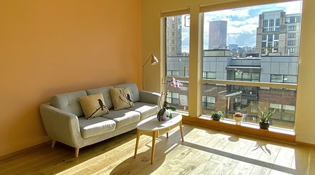 The cheapest apartments for rent in Pearl District, Portland