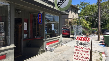 Print periodical shop Issues relocating to Longfellow from Piedmont Ave