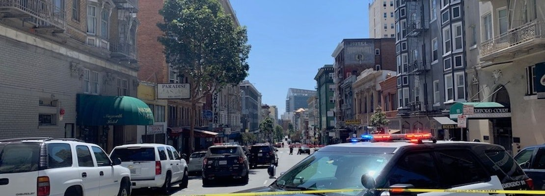 Updated: SFPD in hours-long standoff with Tenderloin suspect after officer-involved shooting