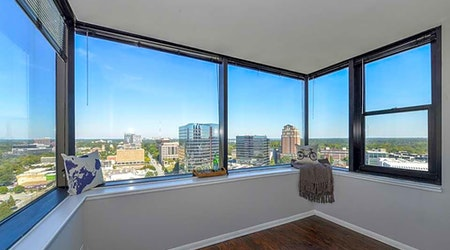 What apartments will $1,300 rent you in Midtown, this month?