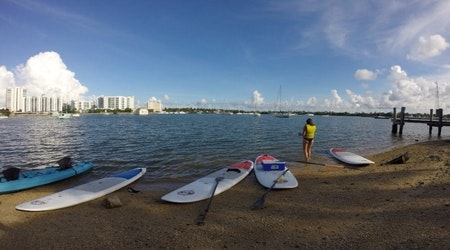 The 4 best paddleboarding spots in Miami