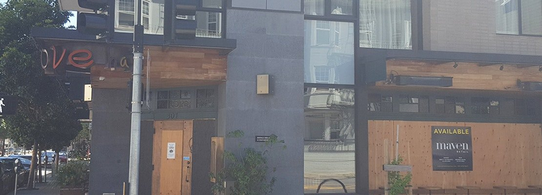 Despite 'for lease' sign, The Grove says it will reopen Hayes Valley location [Updated]