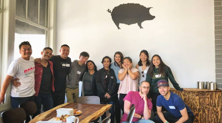 Wooly Pig Cafe celebrates Dogpatch grand opening