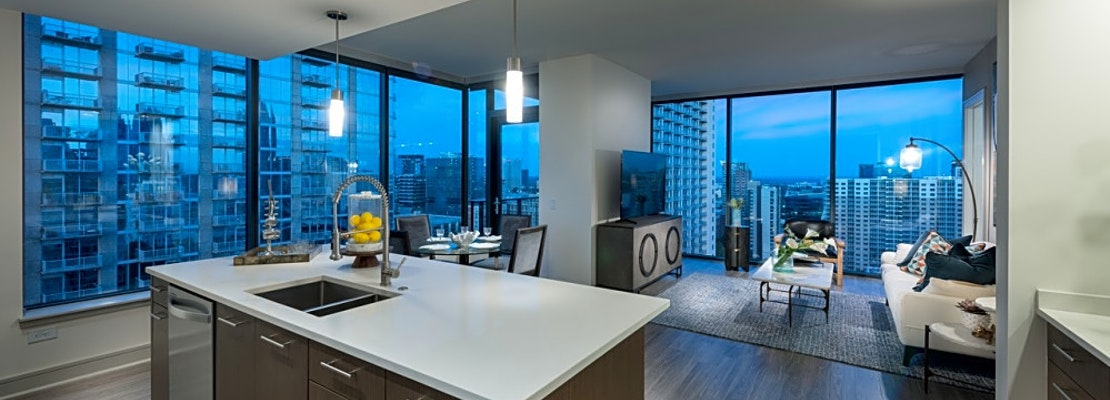 What apartments will $1,800 rent you in Midtown, today?