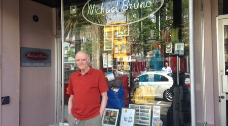 Meet Lou Briasco, 33 Years At The Castro's Michael Bruno Luggage Shop