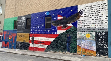Union Square business district destroyed 4 Veterans Alley murals without permission, founder says
