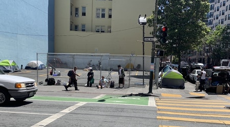 City opens empty Tenderloin parking lot for camping, with no services provided