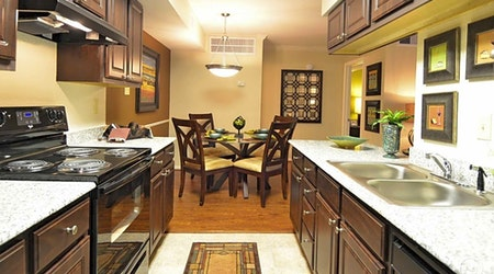 What apartments will $1,100 rent you in West Oaks, right now?