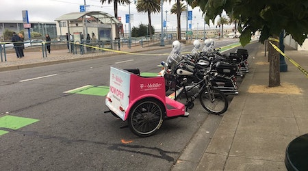 Embarcadero hit-and-run injures pedal cab driver, family of 4