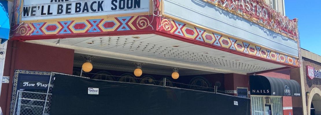 Castro crime: Castro Theatre vandalized; suspects attack man and steal his dog; more