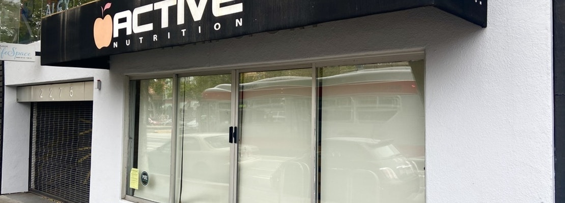 Castro vitamin & supplement store Active Nutrition closes after 20 years