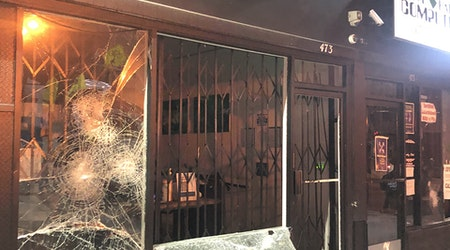 At least 3 Lower Haight businesses vandalized Saturday night [Updated]