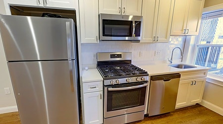 What apartments will $2,200 rent you in Jamaica Plain, right now?