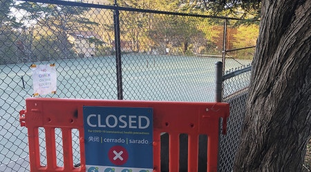 When will tennis, basketball courts and other sports facilities reopen in San Francisco?