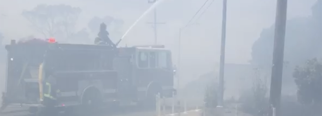 1 injured as Potrero Hill brush fire prompts evacuations
