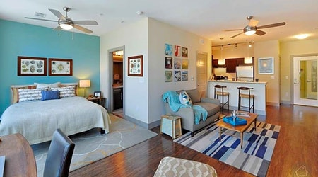 What apartments will $1,800 rent you in Riverside, this month?