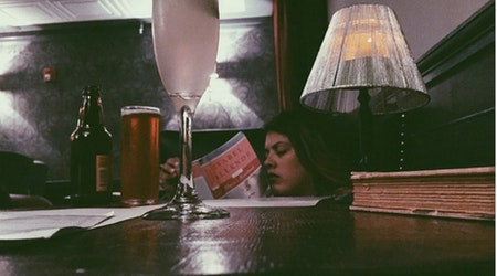 Open A Book At Noir Lounge's BYOBook Silent Reading Party