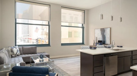 The cheapest apartments for rent in Downtown, Cleveland