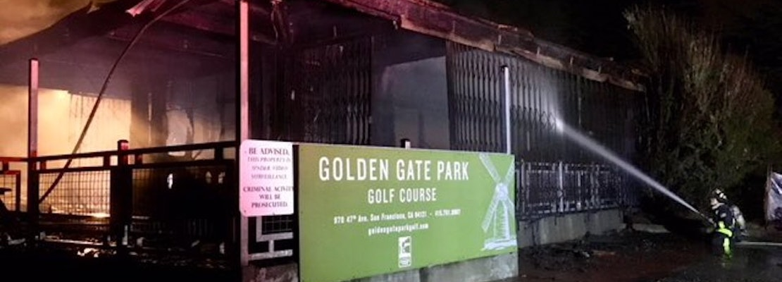 Golden Gate Park Golf Course closed after clubhouse fire