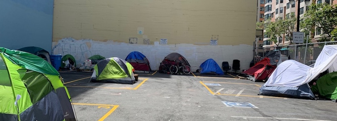 At Tenderloin's only safe sleeping site, disparities with other neighborhoods persist