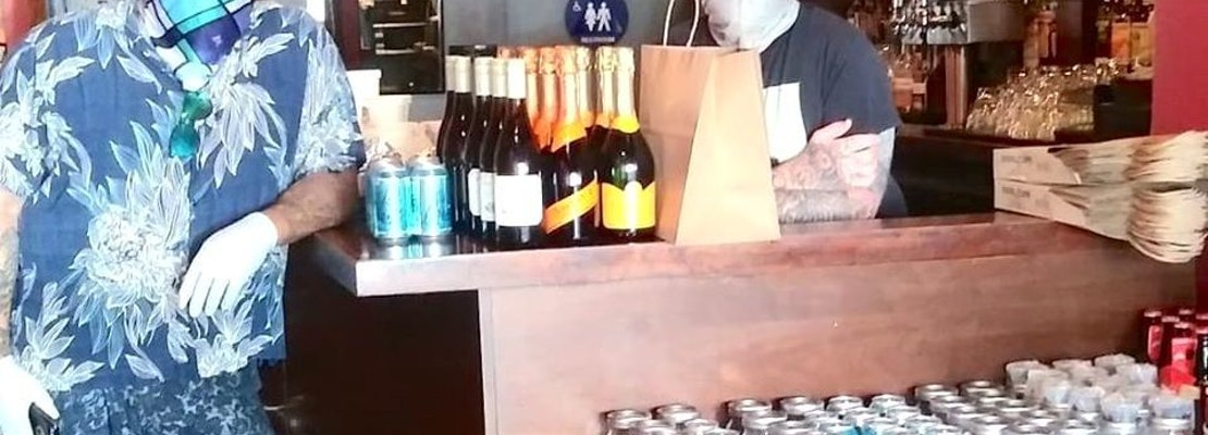 'Throw us a bone': Struggling Divisadero bars navigate state's murky rules around to-go cocktails